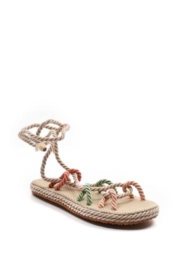 Sapin Sandalet Renkli